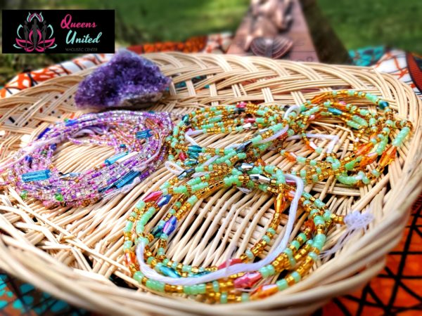 Crystal and Gem Waist Beads